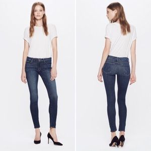 Mother The Looker Here Kitty Kitty Skinny Jeans